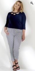 Q´neel - Qneel bukser med strech og elastik i hele taljen