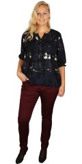 Cassiopeia - Shirt blouse with  and 3/4 sleeves