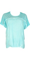 CISO - Blouse with lace stay
