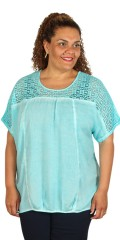 CISO (Brandtex) - Blouse with lace stay
