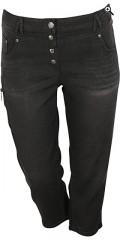 Zhenzi - Stomp Hosen halblange Hosen mit super Stretch und Regulierbar Elastik in die Taille