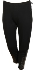 Nais - Nice leggings with rubber band in whole the waist, 7/8 length