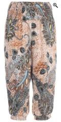 Studio - Stumpe bukser med elastik i taljen og benene