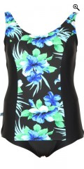 Mirou Swimwear - Smart badedragt med blomsterprint