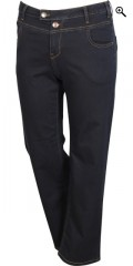 Zizzi - Gemma denim jeans with 5 pockets and really good width in the legs also high waist