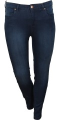 Zizzi - Jeans amy super slim denim jeggings med strech i to længder