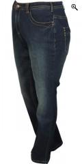 Zizzi - Slim jeans model molly med strech og bæltestropper samt 5 lommer