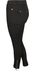 Zizzi - Amy jeans with super stretch and line at the bottom in the legs in two lengths