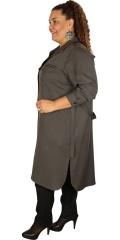 One More (Handberg) - Skjorta klänning med långa ärmar