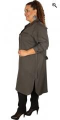 One More (Handberg) - Skjorte kjole med lange ærmer