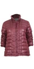 Cassiopeia - Kamma täcke jacka i läcker vinrött färg