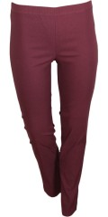 Zhenzi - Bengalin pants. Twist legging fit with rubber band in whole the waist