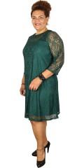 Zhenzi - Nice lace dress with 3/4 sleeves