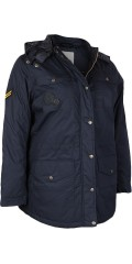 Zhenzi - Stylish quilted jacket with detachable cap with line