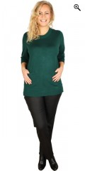 Gozzip - Long-sleeve knit-wear with pockets