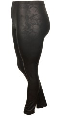 DNY - Sallie leggings with rubber band in whole the waist, also nice fur look