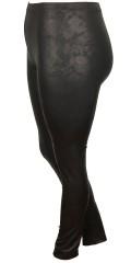 DNY - Sallie Leggings mit Elastik in ganze die Taille, sowie hübsch Fell Look