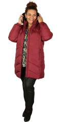 CISO - Long fleece jacket with detachable cap