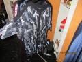 CISO - Tunika/ bluse i printet blonde i let a-facon/god pasform