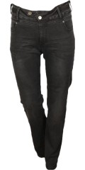 Adia Fashion - Jeans lucca with super stretch and adjustable rubber band in the waist