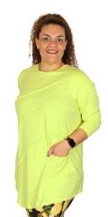 Q´neel - Qneel tunica bluse med lange ærmer