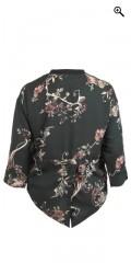 Cassiopeia - Lua skjorte jakke med kraftig lynlås og slids bagpå
