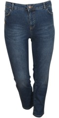 Cassiopeia - Jeans 7/8 with stretch and adjustable rubber band in the waist
