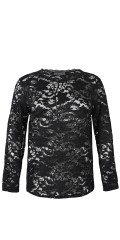 Zhenzi - Lace top with long sleeves and in really good strechy material
