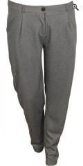 Zhenzi - Flotte bukser med læg (herre buks) og elastik i ryggen
