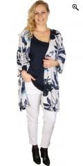 Zhenzi - Kimono med 3/4 ærmer