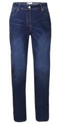 Zhenzi - Stomp super strechy denim jeans with belt straps and adjustable rubber band in the waist also 5 pockets