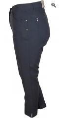 Zhenzi - Stomp Hosen 7/8 Hosen mit super Stretch und Regulierbar Elastik in die Taille
