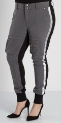 Zoey - Super smart pants/leggings in 2 qualities with silver galons
