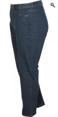 Q´neel - Lecker strechy Jeans mit Elastik in ganze die Taille