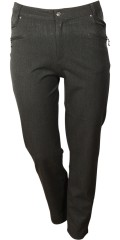 DNY - Laura classic pants in nice mottled strechy quality.
