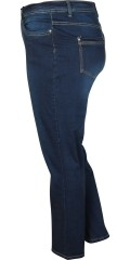 Cassiopeia - Pakka denim jeans with stretch and adjustable rubber band in the waist