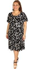 Zhenzi - Frisk kjole med snørre i halsen og med rigtig god vidde forneden