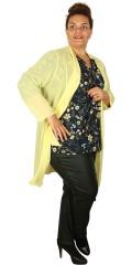Q´neel - Flott chiffon kardigan/jakke
