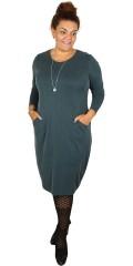 Q´neel - Phantastisch hübsch und kleidsam strechy Kleid in cupro Qualität