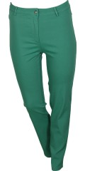 OneMore - Pants with super stretch and belt straps, is closed with zipper and print button