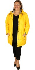 Normann - Rain jacket with cap in super good quality from normann