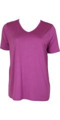 Handberg - T-shirt med korte ærmer og v-hals