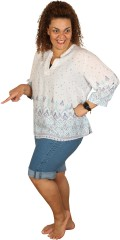 Studio - Bermuda denim shorts fit 55 med 5 lommer