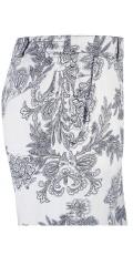 Zhenzi - Loose Hosen in fest Stoff mit Elastik in bagerste Teil aus linningen