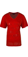 Zhenzi - T-shirt with short sleeves