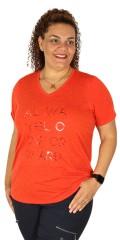 Zhenzi - T-shirt with short sleeves