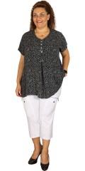 Gozzip - Skjorte t-shirt i lett festlig materiale