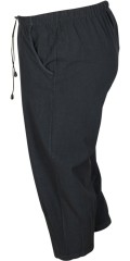 DNY - Zana 3/4 pant soft stump pants with rubber band and line in the waist
