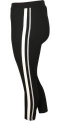Cassiopeia - Cassiopeia 7/8 bukse med strikk i hele taljen samt striper i sidene