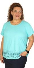 Zhenzi - T-shirt med korte ærmer og print